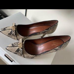 Cole Haan signature brand new snake skin heel!